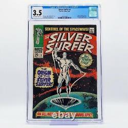 SILVER SURFER #1 CGC 3.5 Origin of Silver Surfer