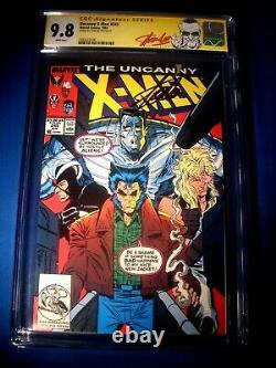 STAN LEE Signed 1993 Uncanny X-MEN #245 Reprint SS Marvel Comics CGC 9.8 NM/MT