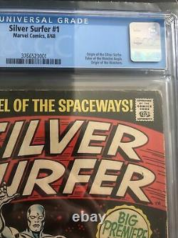 Silver Surfer #1 (1968) CGC 4.5 (VG+) OW To White 1st Issue & Origin By Stan Lee