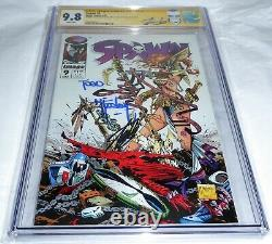 Spawn #9 1st Angelica Marvel CGC SS Signature Autograph STAN LEE MCFARLANE 9.8
