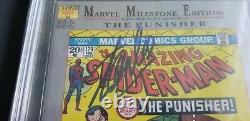 Spider-Man 129 CBCS 9.2 SS Signed Stan Lee John Romita (like CGC PGX)