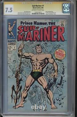 Sub-mariner #1 Cgc 7.5 Ss Stan Lee Origin Sub-mariner Retold Cgc #1203318010