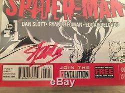 Superior Spider-Man #1 Quesada Variant CGC 9.8 SS x2 Stan Lee & Dan Slott