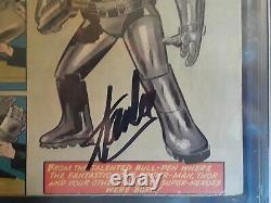 Tales of suspense 39 cgc ss 3.0 Signed Stan Lee (A) slight restoration. Iron man1