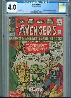 The Avengers #1 (Sep 1963, Marvel) CGC 4.0 1st Appearance of the Avengers