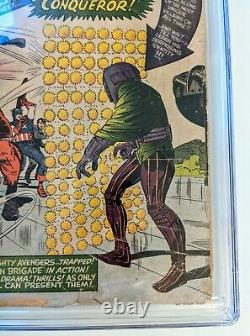 The Avengers #8, CGC 1.0 Inc, Stan Lee, Jack Kirby, first app Kang the conqueror