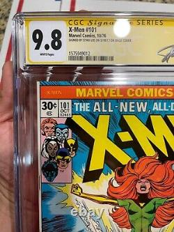 The Uncanny X-Men 101 CGC 9.8 SS Stan Lee 1st Phoenix App 1976 KEY Issue