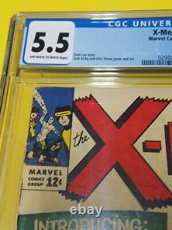 UNCANNY X-MEN #10 CGC 5.5 Marvel Comics 1st appearance of Ka-Zar 1965 KEY ISSUE