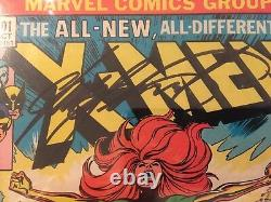 Uncanny X-Men 101 CGC SS 9.8 2x Sign Stan Lee & Chris Claremont, 1st Phoenix App