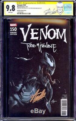 Venom 150 CGC 9.8 SS Stan Lee Todd McFarlane Dell Otto Variant Spiderman NM