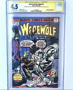 Werewolf by Night #32 1st Moon Knight! CGC 4.5 SS Stan Lee & Milgrom With SKETCH