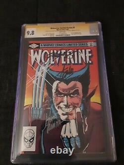 Wolverine #1 CGC 9.8 SS Stan Lee John Romina Chris Claremont White Pages