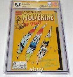 Wolverine #50 CGC SS Signature Autograph STAN LEE Origin X-Men 9.8 Jean Grey