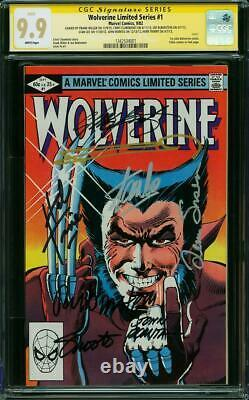 Wolverine Limited Series #1 CGC 9.9 Signed Stan Lee & Frank Miller! M3 131 cm