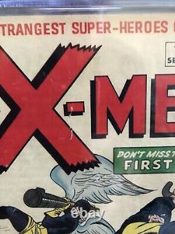 X-MEN #1 CGC 3.0 (Fresh Slab Mint condition) MEGA KEY! Never Pressed