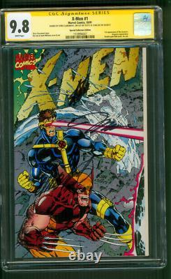 X Men 1 CGC 9.8 3XSS Stan Lee Jim Claremont Special Collectors Ed Wraparound