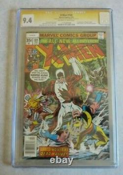X-Men #109 CGC 9.4 Signed by Stan Lee & Chris Claremont 1st App. Weapon Alpha