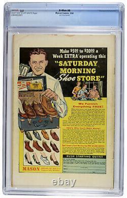 X-Men #4 March 1963 Uk Price 9d Marvel Comic CGC 3.5 Multiple 1st Appearances
