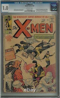 X-men 1 (1963) CGC 1.0 Marvel Comics