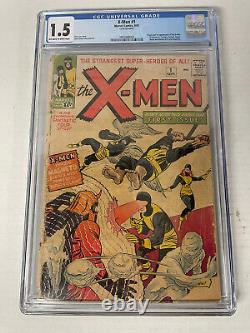 X-men #1 Cgc 1.5 1963 Fresh Grade! 1st Ever X-men! Amazing Cover