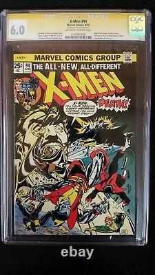 X-men #94 Cgc 6.0 Ss Signed Stan Lee New X-men Begins Marvel